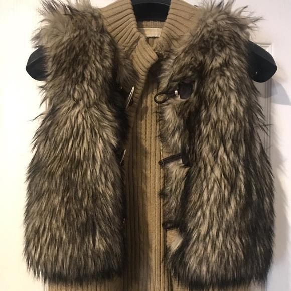 Michael Kors Jackets & Blazers - Authentic Michael Kors Faux Fur Vest